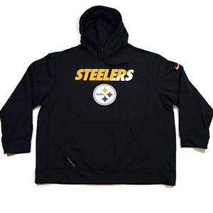 Nke Pittsburgh Steelers Therma Fit Hoodie
